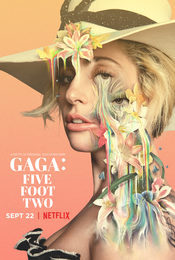 Cartel de Gaga: Five Foot Two