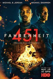 Cartel de Fahrenheit 451