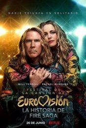 Cartel de Festival de la Canción de Eurovisión: La historia de Fire Saga