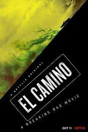 Cartel de El Camino: Una película de Breaking Bad