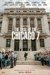 Cartel de El juicio de los 7 de Chicago