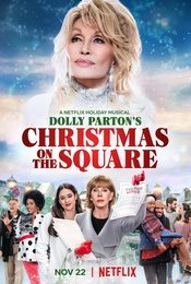 Cartel de Dolly Parton: Navidad en la plaza