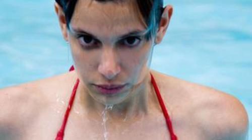 María Amparo se cae al agua en 'Supermodelo 2008'