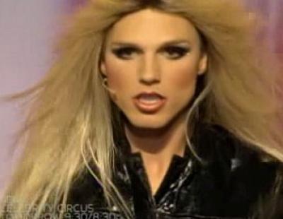 Imitador de Britney Spears en 'Tienes talento'