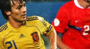Gol de Silva 0-3 en el Rusia - España: Minuto de oro