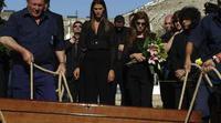 'Los hombres de Paco': el funeral de Lucas
