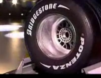 Miguel Ángel Revilla y la rueda de Fórmula 1 en 'Buenafuente'