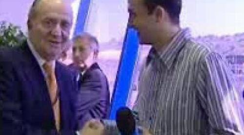 "El Rey en TVE: ""Me gusta venir a Jerez"""