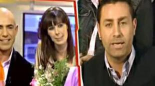 Emilio Pineda y Lucía Riaño se despidieron con lágrimas de 'Está pasando'