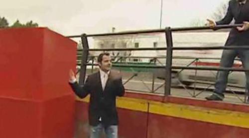 Ángel Martín quiere meter a Vasile en 'La caja'