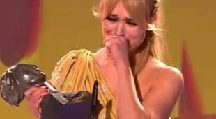 Patricia Conde recibe emocionada el TP de Oro