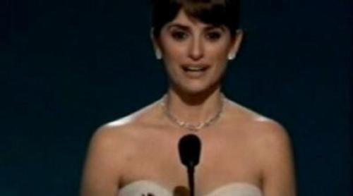 Penélope Cruz, Oscar a la mejor actriz de reparto