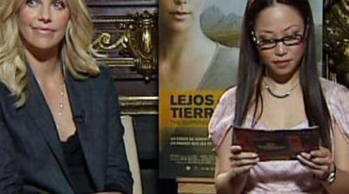 Usun Yoon entrevista a Charlize Theron en 'El intermedio'