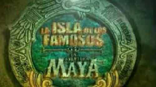 Cabecera de la edición 'La isla de los famosos: Una aventura Maya'