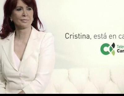 """TV Canaria promociona su nuevo fichaje: """"Cristina, está en casa"""""""