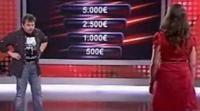 Una concursante aspira a los 25.000 euros en 'Password'