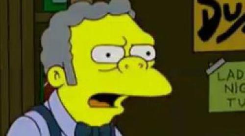'Los Simpson' critican a Perón