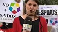 Las protestas en Telemadrid se cuelan en los informativos
