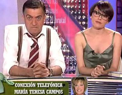 María Teresa Campos en 'El intermedio'