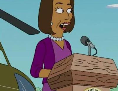 Michelle obama en 39 los simpson 39 v deo for Sexo gratis pamplona