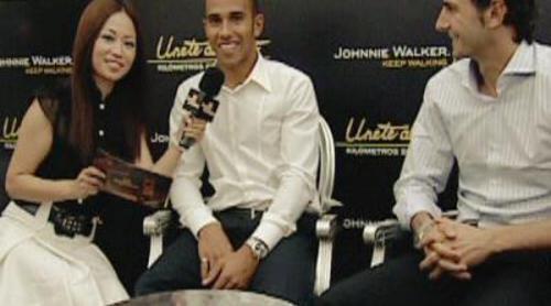 Usun Yoon entrevista a Hamilton y De la Rosa