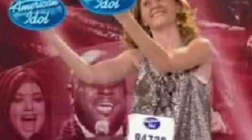 """Alexis Cohen, """"Glitter Girl"""", en 'American Idol'"""