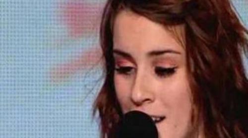 Lucie Jones en los castings de 'The X Factor'