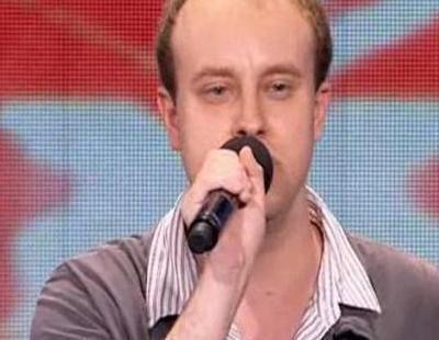 Scott James, autista, en 'The X Factor'