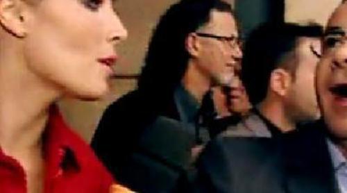 Pilar Rubio y Jorge Javier Vázquez se encuentran en los Ondas