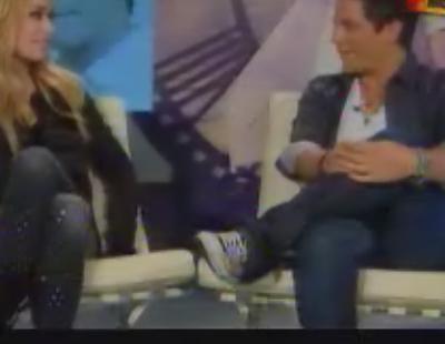 Patricia Conde pide lecciones de música a Alejandro Sanz