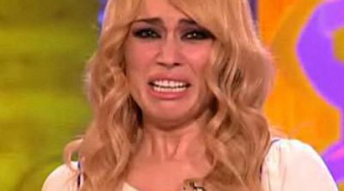 """Patricia Conde rompe a llorar más """"sola que un perro"""""""