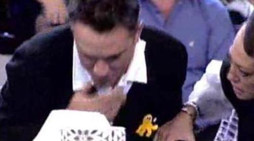 Kiko Hernández pierde la muela en directo en 'Sálvame'
