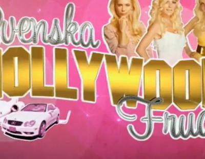 Cabecera del exitoso 'Svenska Hollywoodfruar' (Swedish Hollywood Wives)