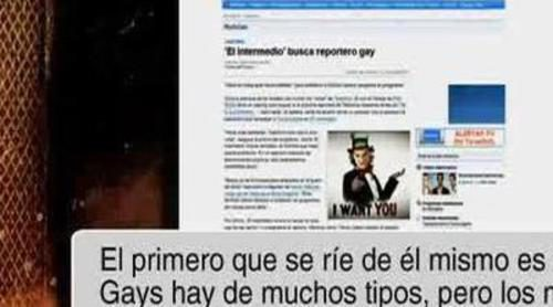 """'El intermedio' cambia el anuncio de """"Se busca reportero gay"""" tras las críticas en FórmulaTV"""