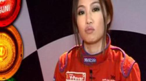 """Usun Yoon, piloto de karts en """"¡Trata de arrancarlo Usun!"""""""