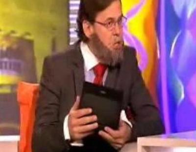 Miki Nadal es Mariano Rajoy en 'Sé lo que hicisteis...'