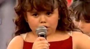 Lucía García sorprendió a la audiencia de 'Quiero cantar' con el Nessun Dorma