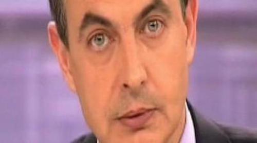Zapatero ensaya un discurso en 'Tonterías las justas'