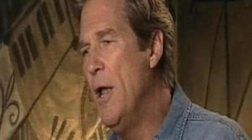 Jeff Bridges opina sobre la rueda de prensa y 'Tonterías las justas'