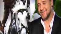 Ana Morgade entrevista a Russell Crowe en 'Buenafuente'
