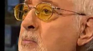 Antonio Ozores con 'Buenafuente' en una de sus últimas entrevistas