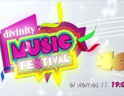 Divinity altera este viernes su parrilla con motivo de los Premios 40 Principales