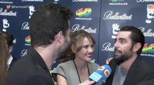 La sorprendente reacción de Dani Mateo al ver a Elena Ballesteros de militar en 'B&b, de boca en boca'