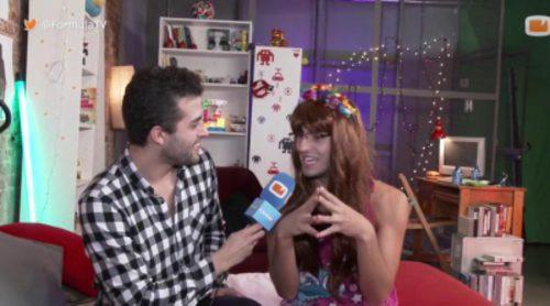 Elvisa enseña cómo imitar a Gloria Serra