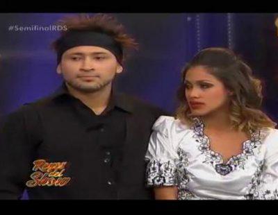 Un bailarín se lanza contra uno de los jueces del programa 'Reyes del Show' tras ser eliminado