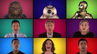 """Jimmy Fallon y el elenco de """"Star Wars"""" se atreven a cantar la BSO de la película"""