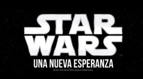 """Tráiler de """"Star Wars: Episodio IV - Una nueva esperanza"""""""