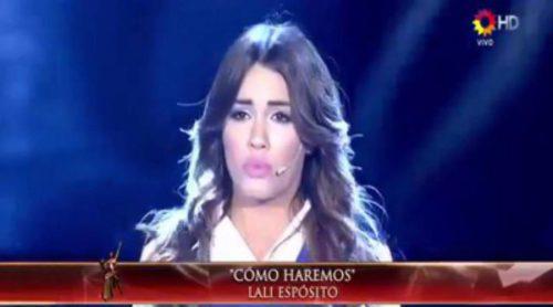 """Lali Espósito interpreta """"Cómo haremos"""", otra de las canciones de 'Esperanza mía'"""