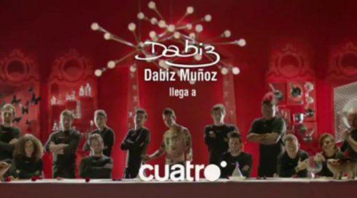 Primer avance del nuevo programa de Dabiz Muñoz en Cuatro
