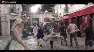Making of: así se grabó el lipdub navideño de 'Acacias 38'